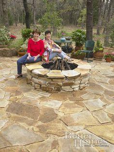 flagstone patio and simple garden | patios | pinterest - Flagstone Patio Ideas