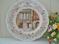 Royal Doulton vintage Brambly Hedge series plate called The Dairy by MaddyVintageHostess, £35.00