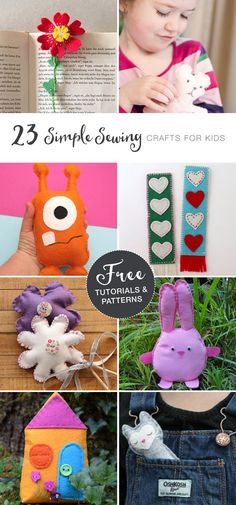 Easy sewing with kids ideas