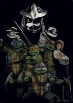 ninja deviantart | Teenage Mutant Ninja Turtles by ~artelo on deviantART
