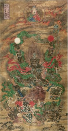 Asian Image, Art Chinois, Tibetan Art, Buddha Art, Thai Art, Taoism, China Art, Chinese Painting, Types Of Art