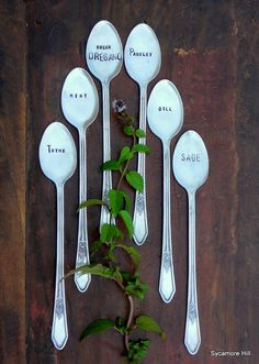 herb garden markers