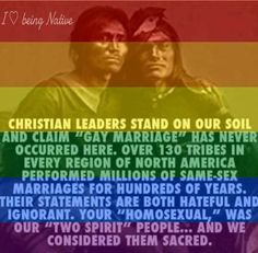 """""""Two Spirit"""" people ... a true heritage!"""