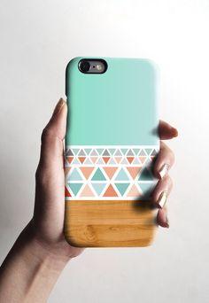 iPhone 6 cas, mat iPhone 5 s cas, cas de l'iPhone 5C affaire iPhone 4 s avec un motif bois aztèque menthe, cadeau de Noël 558 par Darkoolart sur Etsy https://www.etsy.com/fr/listing/205088661/iphone-6-cas-mat-iphone-5-s-cas-cas-de