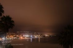 Laguna beach at night by Payae. @go4fotos