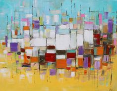 ORIGINAL abstract painting Abstract art small Abstract painting modean ,Acrylic abstract painting colorful painting on canvas
