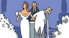 Noivo que vomitou e show de cueca estão entre bafos de casamentos