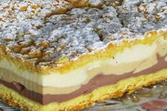"Homemade cakes and lunches: Cheesecake flavors"" cream Polish Desserts, Polish Recipes, Dessert Drinks, Dessert Bars, Food Cakes, Cupcake Cakes, Cookie Recipes, Dessert Recipes, Dairy Free Cookies"