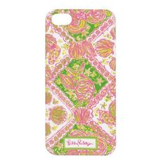 Lilly Pulitzer iPhone5 Cover - Water Wings. Protect your iPhone Lilly style, front bumper to protect against chips or scratches when dropped. Rich color and smooth finish. Larger camera hole to prevent flash glare. Compatible with AT&T and Verizon 5 iPhones.