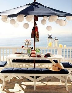 beach theme bridal shower blog post at http://info.pantypinata.com/blog/bid/258614/Beach-Bridal-Shower#