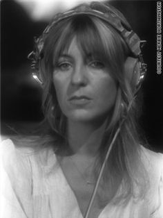 Keyboardist and vocalist Christine McVie also wrote many of Fleetwood Mac's songs. Great Bands, Cool Bands, Christine Perfect, Members Of Fleetwood Mac, Buckingham Nicks, Rock Queen, Stevie Nicks Fleetwood Mac, Women Of Rock, Beautiful Female Celebrities