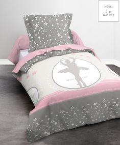 Dětské ložní povlečení z bavlny s motivem baletky Baby Car Seats, Comforters, Toddler Bed, Blanket, Children, Rose Fushia, Furniture, Home Decor, White Duvet