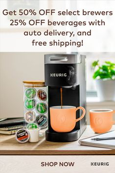 Single Serve Coffee Makers & K-Cup Pods Country Bedding Sets, Coin Café, Apartment Needs, How To Focus Better, Coffee Corner, Keurig, Drip Coffee Maker, Kitchen Organization, Kitchen Accessories