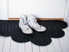 DIY cloud doormat. Shine design.