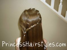 Hairstyles For Girls - Princess Hairstyles: Flower Girl Hairstyles