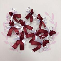 Svatební vývazky Velikost cca 7x5cm  Zhotovení v barvě na přání :) Gift Wrapping, Gifts, Gift Wrapping Paper, Presents, Wrapping Gifts, Favors, Gift Packaging, Gift