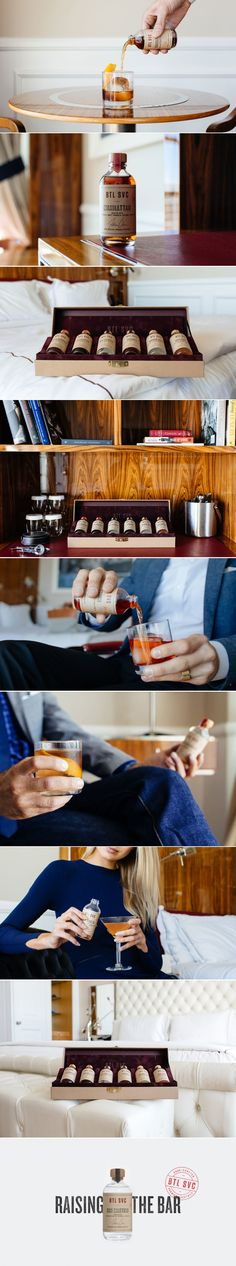 BTL SVC is Serving Up Delicious Hand Crafted Cocktails — The Dieline | Packaging & Branding Design & Innovation News