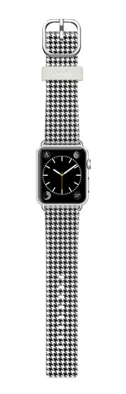 Casetify Apple Watch Band (38mm) Bracelet Casetify - Classic Houndstooth by Benjiman Croll #Casetify