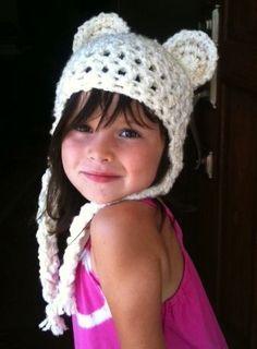 Crocheted Animal Hat