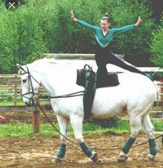 Dreamswept Farm - Vaulting Information Trick Riding, Acro, Vaulting, Pilates, Equestrian, Pony, Activities, Riding Horses, Unitards