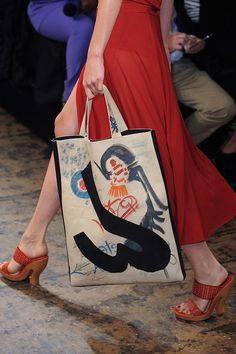 Spring Bag Trends 2015 | Runway | Donna Karan