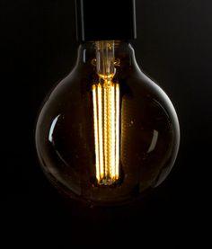LED FILAMENT BULB | Smoked Large Globe Long Filament Bulb E27