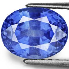 4.28-Carat Eye-Clean Cornflower Blue Burmese Sapphire (GIA)