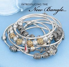 The new bangle customizable bracelet collection from Pandora