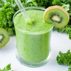 Tropical Mango Kale Smoothie - Fitnessmagazine.com