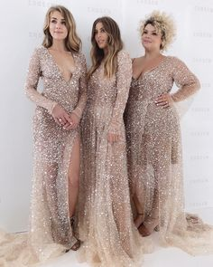 Rose Gold Bridesmaid Dress via princess wedding dresses sweetheart strapless neckline detached sleeves full lace Sparkly Bridesmaids, Bridesmaid Dresses Plus Size, Wedding Bridesmaids, Gold Sparkle Bridesmaid Dress, Gold Wedding Gowns, Wedding Dresses, Dresses Dresses, Rose Gold Wedding Dress, Rose Gold Dresses