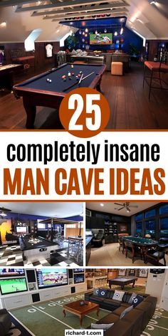 25 Ultimate man cave ideas you need to see! These man caves are completelty insane! Hopefully these man cave ideas inspire you! 25 Most EPIC man cave ideas that every man dreams of! Make sure to pick your man cave today! Man Cave Garage, Garage House, Man Cave Basement, Garage Bar, Barn Garage, Man Cave Bar, Man Cave Room, Man Cave Games, Men Cave