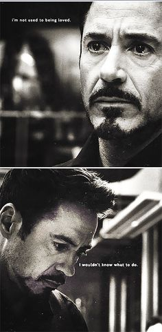 Tony Stark.  OK, I didn't need my heart anyway...  (The quote is from F. Scott Fitzgerald.)