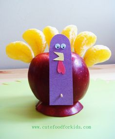 Thanksgiving Edible Crafts for kids