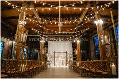 Loving the string lights Steam Whistle Brewery Wedding Photography: Krista Fox Photography Ceremony and Reception Venue: Steam Whistle Brewery Wedding Planner: Distinct Occasions, Crystal Adair-Benning Foxes Photography, Winter Photography, Wedding Photography, Wedding Planning Tips, Wedding Tips, Trendy Wedding, Luxury Wedding, Wedding Locations, Wedding Venues