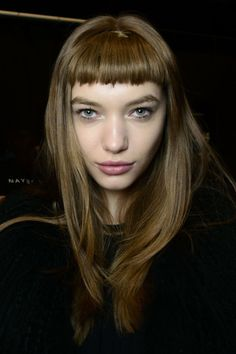 Faux micro fringes at Custo Barcelona Autumn/Winter 2014
