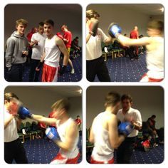 Mitch our #boxer getting ready #ABA #amateur #boxing #WarmingUp #WildStar