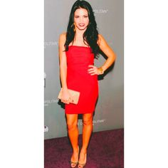 Boulee Serena Dress Red size 6 Used - worn only once Boulee Dresses Mini