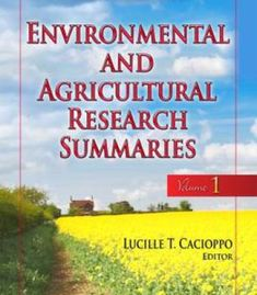 Environmental & Agricultural Research Summaries PDF