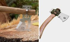 Turn Any Stick Into an Ax With This MultiTool Chopping | Tools | Gear