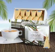 Tea Forte launches Coconut Tea
