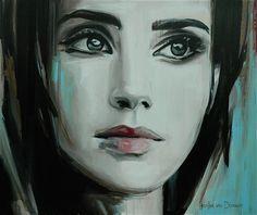 """Saatchi Online Artist: Hesther Van Doornum; Acrylic, 2011, Painting """"Beyond (sold)"""""""