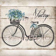 Wood Background Plus Transparent background  Vintage Bicycle | Etsy