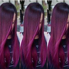 Ser+ou+não+ser:+Cor+de+cabelo+Marsala/Borgonha.