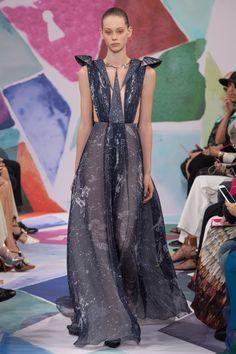 Schiaparelli Fall 2016 Couture Fashion Show - Lauren de Graaf (Elite)