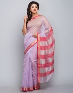 8b7ece06b Fashionable women will surely like to step out in style wearing this sari.  A must-have in your ethnic wear collection, this sari features a classic  border.