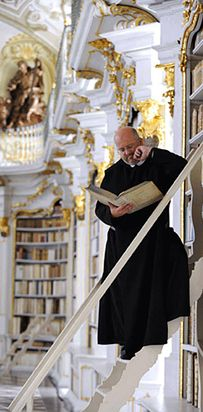 Library at the Benedictine Monastery of Admont — Admont, Austria   49 Breathtaking Libraries From All Over The World