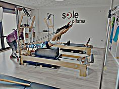 reformer pilates back extansion
