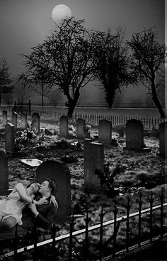 loui jover_lovers in a graveyard collage