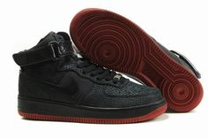 43a7e04288c Buy 375379 001 Nike Air Force 1 Hi Supreme Eddie Cruz Black Black Varsity  Red White Cheap To Buy from Reliable 375379 001 Nike Air Force 1 Hi Supreme  Eddie ...