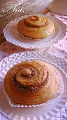 La Cocina de Ani: Caracolas de canela